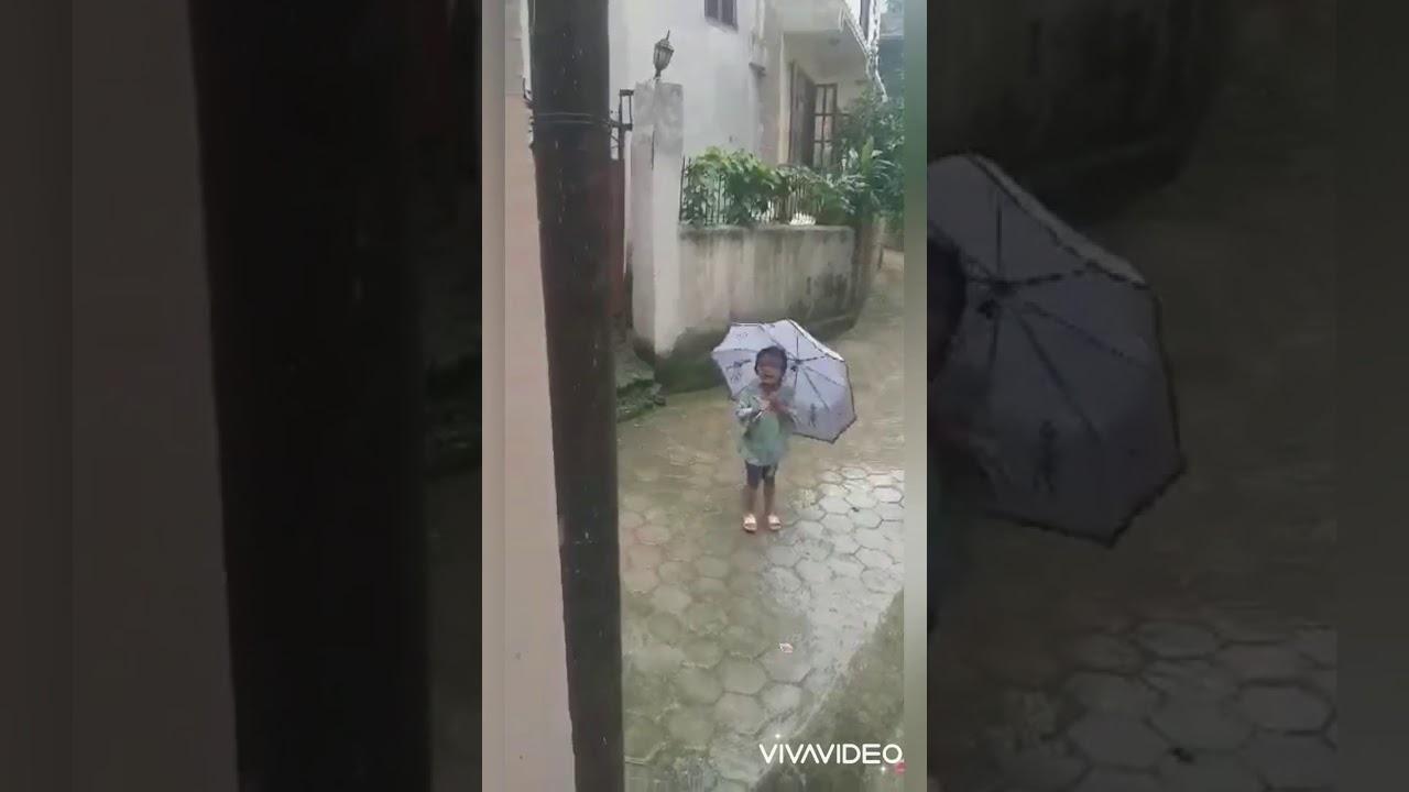 Rain rain go away | UKG 2077 | Saina | Satish | Aarshiya | Aaroshi | Saphala | Evan | Rijuta