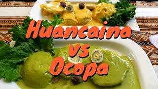 Delicious Peruvian Potatoes: Papa a la Huancaína y Ocopa in Lima, Peru