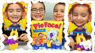 challenge pie face challenge le jeu de la chantilly hasbro unboxing pie face game