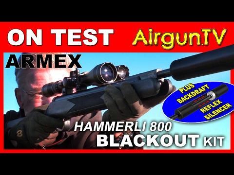 REVIEW: Armex Blackout Kit (Hammerli 800) ft. Backdraft reflex silencer