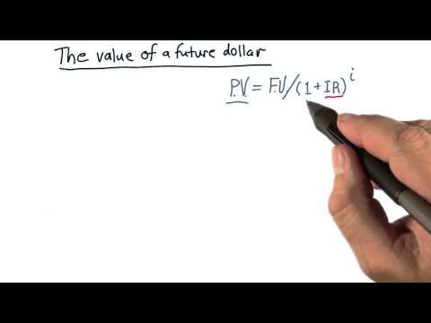 The Value Of A Future Dollar