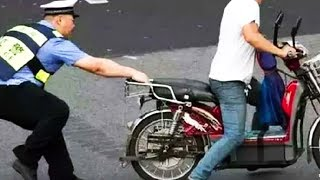 Motorcycles BANNED in China!