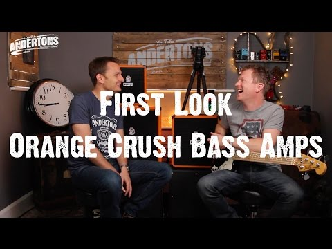 All About The Bass - First Look - Orange Crush Bass Amps