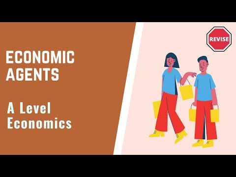 As Economics - Economic Agents