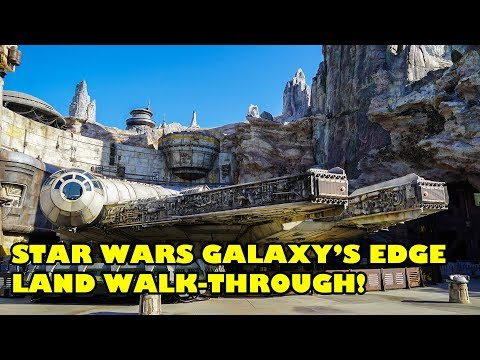 Must See Popular Videos | Plugged In - Star Wars Galaxy's Edge Walking Tour at Disneyland