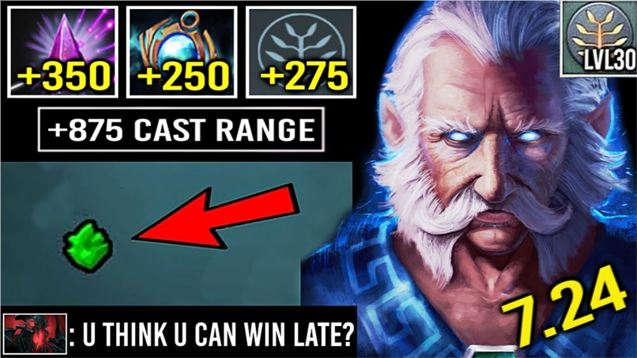 Epic 875 Cast Range Seer Stone Zeus Vs Megacreeps Crazy 30 Level