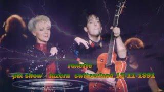 Roxette The big l. - How do you do! karaoke - pix show Wembley1991