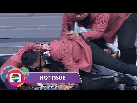 Aksi Gokil Host Memeluk Nassar di Panggung LIDA - Hot Issue Pagi