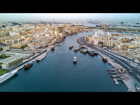 Dubai Creek by Drone 🚁