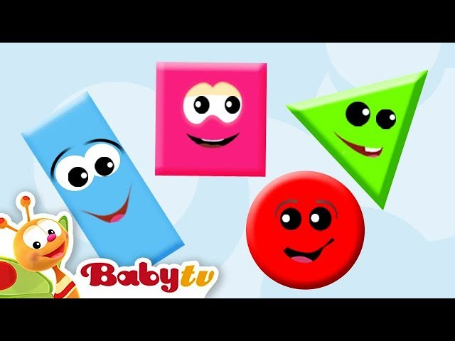 Shapes for Toddlers   Kids and Babies   BabyTV
