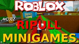 Team SBG spielt Roblox: Mehr Ripull Minispiele! (Die ganze Familie!)
