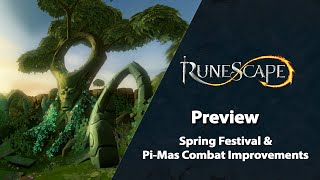 Spring Festival & Pi-Mas Combat Improvements – Preview | RuneScape Weekly Stream (March 2021)