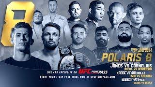 Polaris 8 Free Match: Craig Jones vs Jake Shields