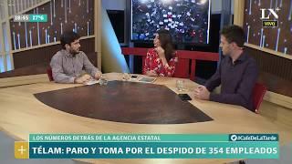Télam: paro y toma por el despido de 354 empleados - Café de la Tarde