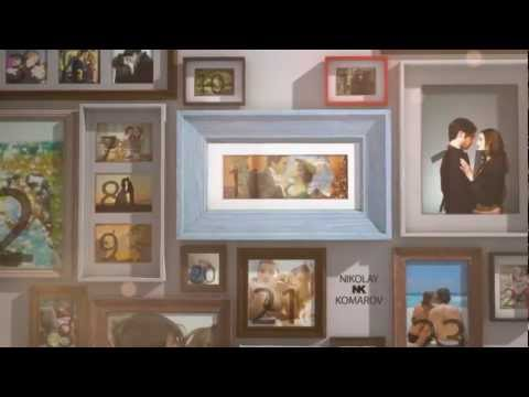 After Effects Template Free Download - Romantic Photo Frames - YouTube