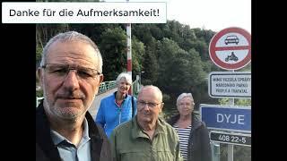 Waldviertel Radfahren 2020-07 Tag5: Hardegg, Vranov, ...