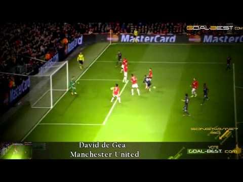 Big Double Save ! Goal Keeper David De Gea Manchester United VS PSG Champions league