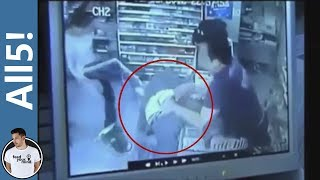 5 Dumb Criminals Caught On Tape!
