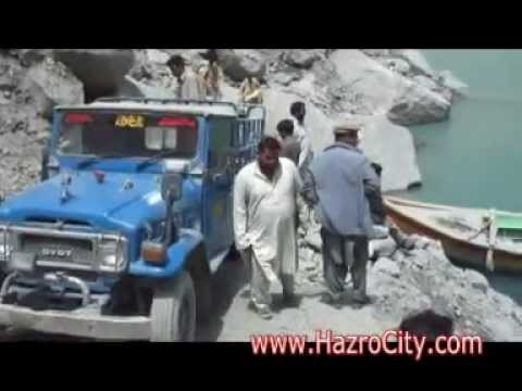 Hunza Lake, (Ata Abad Jheel), Gilgit Baltistan, Pakistan, an amazing video...