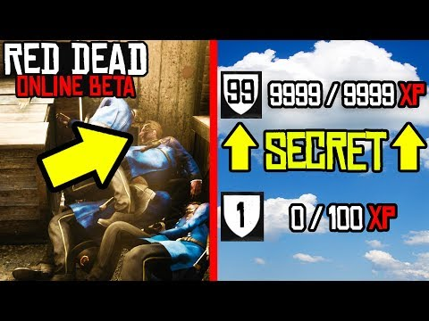 IF YOU DO THIS YOU CAN LEVEL FAST in Red Dead Online! Red Dead Redemption 2 EASY XP GLITCH!