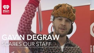 Gavin DeGraw Scares the iHeartRadio Staff