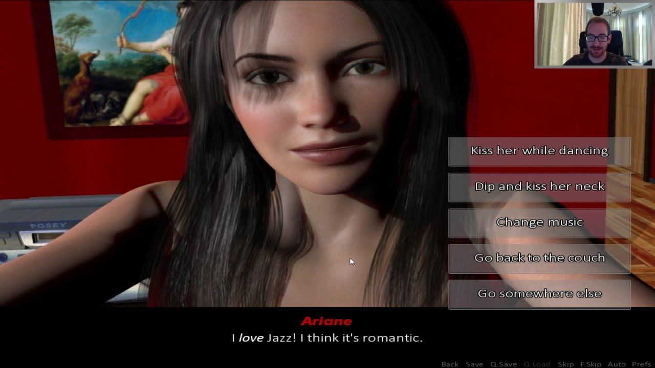 ariane dating walkthrough