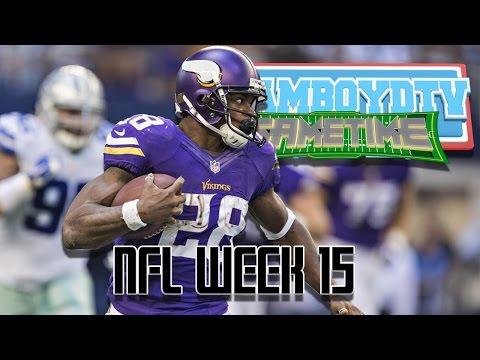 TeamBoydTV GameTime!   NFL Week 15