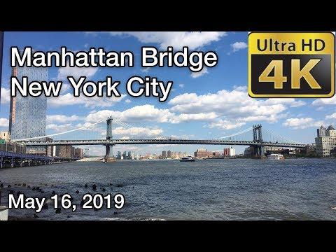 Walking Tour Of Manhattan Bridge【4K】