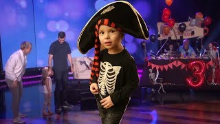 WHEN ELLEN THROWS A PIRATE BIRTHDAY PARTY FOR YOUR LITTLE BROTHER