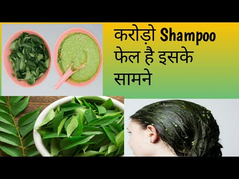 DIYs  CURRY LEAVES Hair Fall Control Remedy,promote Hair Growth.