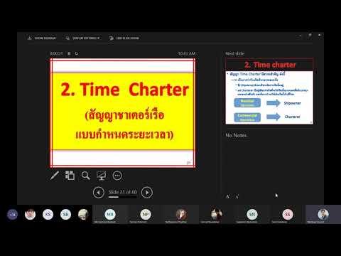 Ship Chartering 2 (Time Charter & Bareboat Charter)