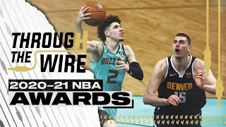 2021 NBA Award Show | Through The Wire Podcast