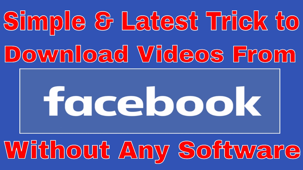 how to download video from facebook to computer 2017