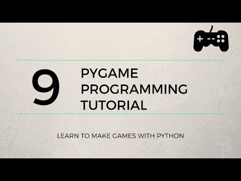 Pygame Tutorial #9 - Sound Effects, Music & More Collision