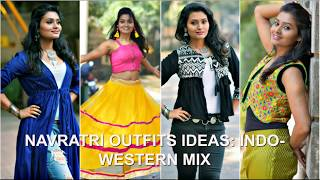 Stylish Indo Western Navratri/Garba Outfit Ideas 2018 | Garba Outfits from Staples| Priyanka Mehra
