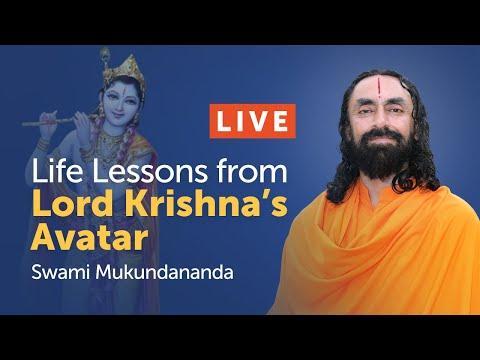 Life Lessons from Lord Krishna's Avatar - Janmashtami 2020 Live Discourse by Swami Mukundananda
