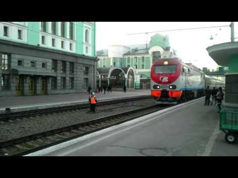 Поезд Омск-Новосибирск
