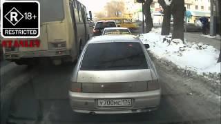 сумасшедшие приколы на дорогах)))