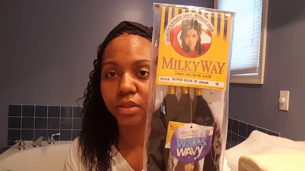 Protective Style Micro Braids Wet Wavy Human Hair Update