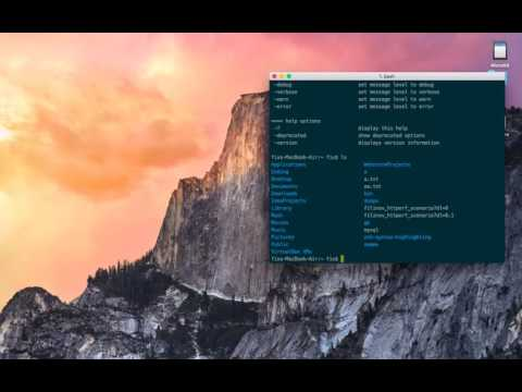 [Apache Ivy] Demo on Mac OS X