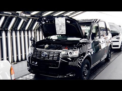 JPN TAXI Production Line at Higashi Fuji Plant, Toyota Motor East Japan, Inc.