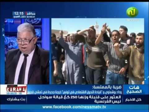 ضربة بالملمسة: وداد بوشماوي و قيادة التحول الاقتصادي في تونس, خرجة جديدة في تمشي قديم