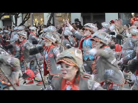 16ª Desfile Del Carnaval De Badajoz Actuación De El Vaiven 23 2 2020