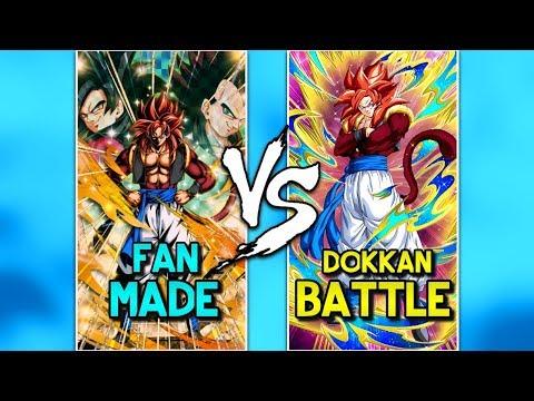 FAN - MADE VS ORIGINAL DOKKAN BATTLE SUPER ATTACKS! | Dokkan Battle List