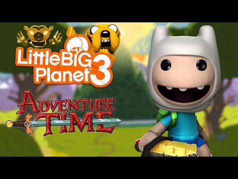 LittleBigPlanet 3 - Adventure Time Level Kit DLC (100% Prize Bubbles)