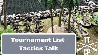 Bolt Action Tactics : LVO Prep Tournament List