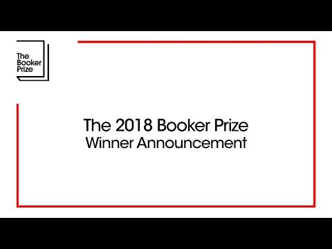 2018 Man Booker Prize Winner Announced