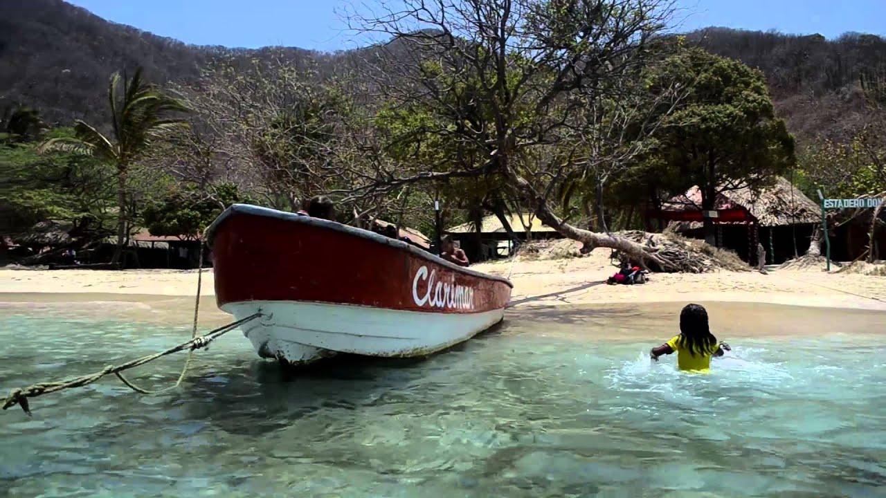 Neguange and crystal beach in santa marta youtube for Muebles munoz santa marta