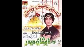 Baba Je Diti Muhalat Saraiki Nohay Zeeshan Haider 2013 new