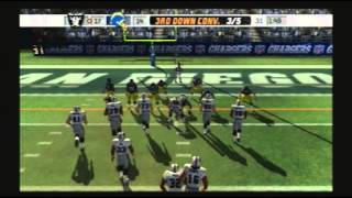 Madden NFL 07 Historic Teams Special 1983 Los Angeles Raiders vs 1981 San Diego Chargers